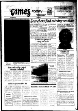 Squamish Times: Tuesday, November 6, 1984