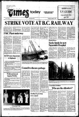 Squamish Times: Tuesday, March 12, 1985