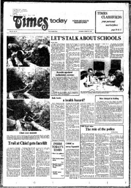 Squamish Times: Tuesday, March 5, 1985