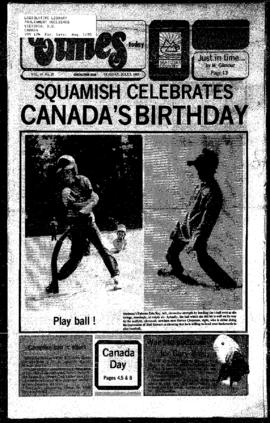 Squamish Times: Tuesday, July 9, 1985