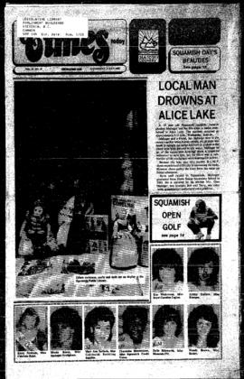 Squamish Times: Wednesday, July 3, 1985