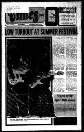 Squamish Times: Wednesday, September 4, 1985