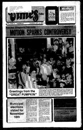 Squamish Times: Tuesday, October 22, 1985
