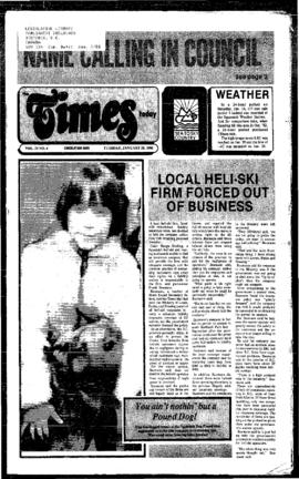 Squamish Times: Tuesday, January 28, 1986