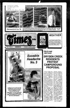 Squamish Times: Tuesday, March 11, 1986