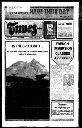 Squamish Times: Tuesday, March 4, 1986