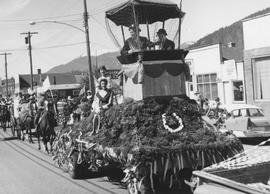 Float in May Day Parade 1962 (?)