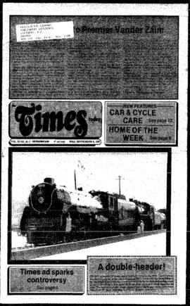 Squamish Times: Wednesday, September 9, 1987