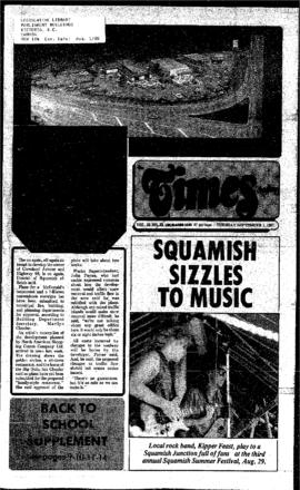 Squamish Times: Tuesday, September 1, 1987