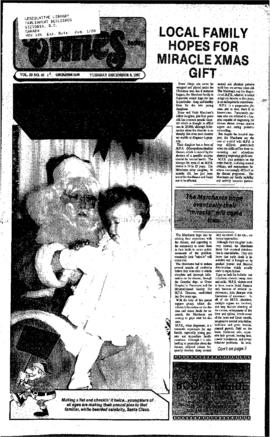 Squamish Times: Tuesday, December 8, 1987