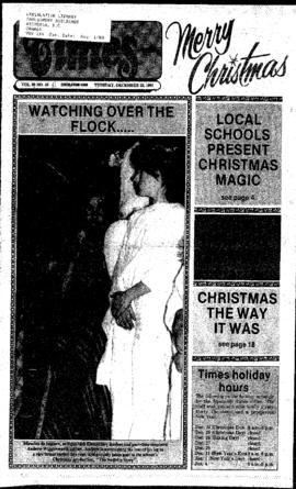Squamish Times: Tuesday, December 22, 1987