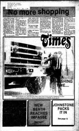 Squamish Times: Tuesday, March 15, 1988
