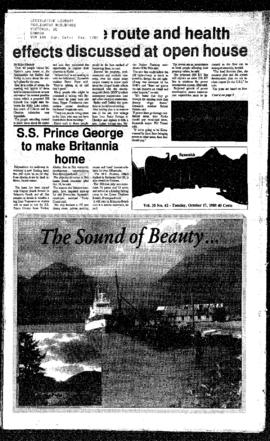 Squamish Times: Tuesday, October 17, 1989