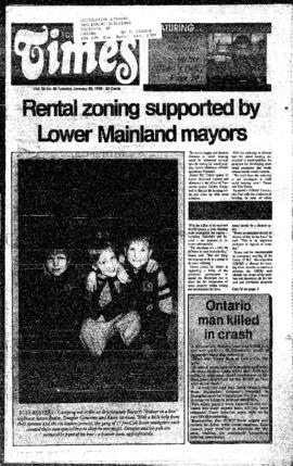 Squamish Times: Tuesday, January 30, 1990