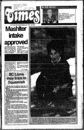 Squamish Times: Tuesday, February 20, 1990