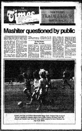 Squamish Times: Tuesday, May 8, 1990