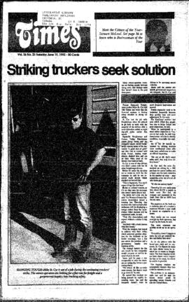 Squamish Times: Tuesday, June 19, 1990