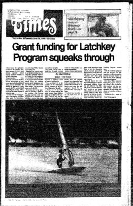 Squamish Times: Tuesday, June 26, 1990