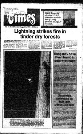 Squamish Times: Tuesday, August 14, 1990