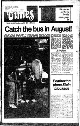 Squamish Times: Tuesday, July 24, 1990