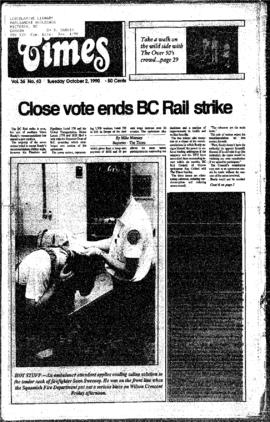 Squamish Times: Tuesday, October 2, 1990