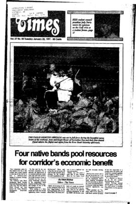 Squamish Times: Tuesday, January 22, 1991