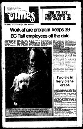 Squamish Times: Tuesday, May 7, 1991