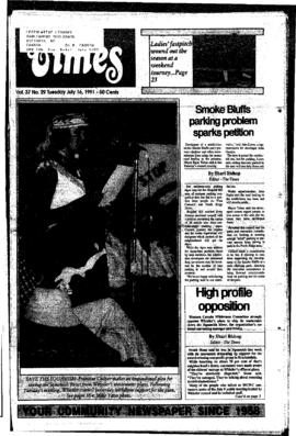 Squamish Times: Tuesday, July 16, 1991