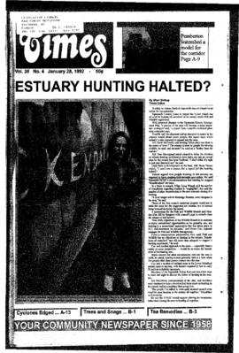 Squamish Times: Tuesday, January 28, 1992
