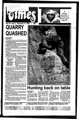 Squamish Times: Tuesday, February 11, 1992