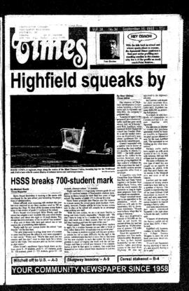 Squamish Times: Tuesday, September 15, 1992