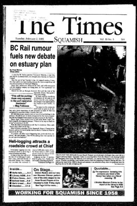 Squamish Times: Tuesday, February 2, 1993