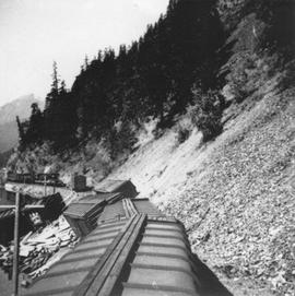 Train derailment at Seton Lake