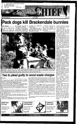 Squamish Times: Tuesday, July 18, 1995