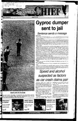 Squamish Chief: Tuesday, August 22, 1995