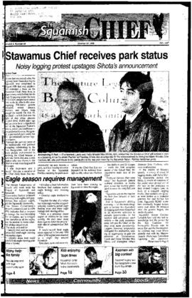 Squamish Chief: Tuesday, October, 24, 1995