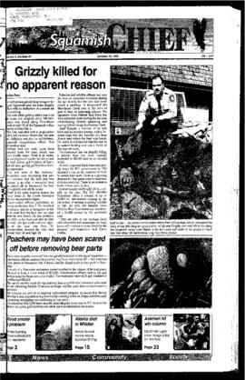 Squamish Chief: Tuesday, October 10, 1995