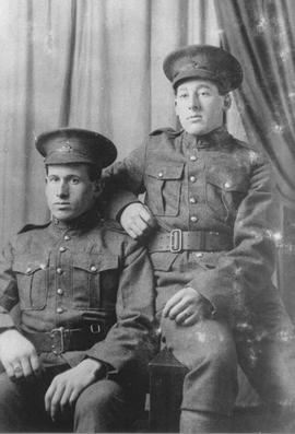 Alex and Scott MacDonald, 1918