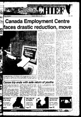 Squamish Chief: Tuesday, January 30, 1996