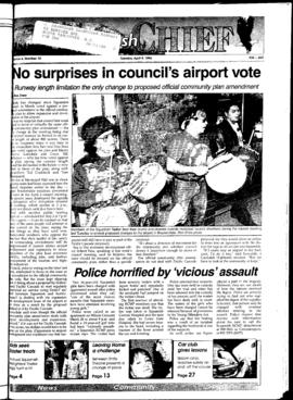 Squamish Chief: Tuesday, April 9, 1996