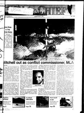 Squamish Chief: Tuesday, April 2, 1996