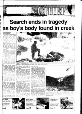 Squamish Chief: Tuesday, March 19, 1996
