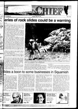 Squamish Chief: Tuesday, May 28, 1996