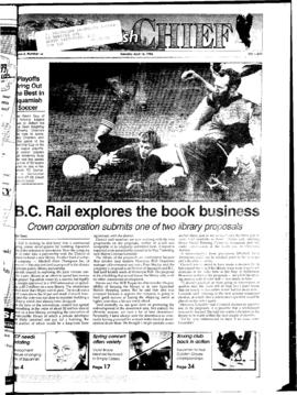 Squamish Chief: Tuesday, April 16, 1996