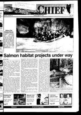 Squamish Chief: Tuesday, August 20, 1996