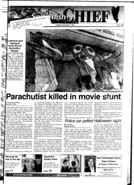 Squamish Chief: Tuesday, November 5, 1996