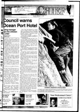 Squamish Chief: Tuesday, February 11, 1997