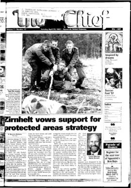 Squamish Chief: Tuesday, April 29, 1997