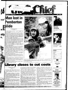 Squamish Chief: Tuesday, June 3, 1997