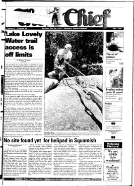 Squamish Chief: Tuesday, July 29, 1997